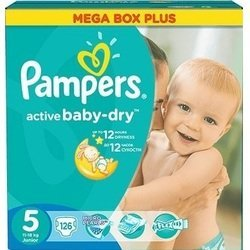 ���������� Pampers Active Baby-Dry Junior ������������� (11-18 ��) ����:126��.