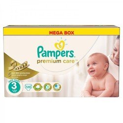 ���������� Pampers Premium Care  3 ������������� (5-9 ��) ����:120��.