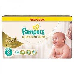 Подгузники Pampers Premium Care  3 универсальные (5-9 кг) упак:120шт.