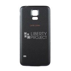 Задняя крышка для Samsung Galaxy S5 G900F (0L-00001041) (серый)