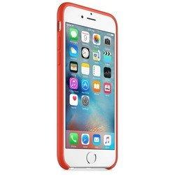Чехол накладка для Apple iPhone 6, 6s (Apple MKY62ZM/A) (оранжевый)