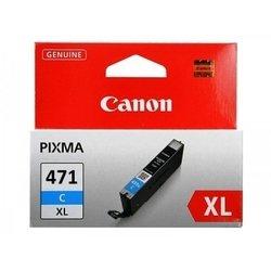 Картридж для Canon PIXMA MG5740, MG6840, MG7740 (CLI-471XLC 0347C001) (голубой)