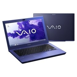 "sony vaio vpc-sb4m1r (core i3 2350m 2300 mhz/13.3""/1366x768/4096mb/500gb/dvd-rw/wi-fi/bluetooth/win 7 hp)"