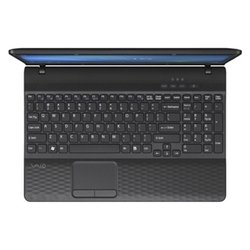 "sony vaio vpc-eh3j1r (core i3 2350m 2300 mhz/15.5""/1366x768/4096mb/320gb/dvd-rw/nvidia geforce 410m/wi-fi/bluetooth/win 7 hb)"