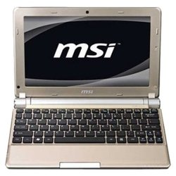 "msi wind u160dx (atom n455 1660 mhz/10""/1024x600/2048mb/250gb/dvd нет/wi-fi/dos)"