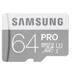 Карта памяти microSDXC Samsung PRO 64Gb (MB-MG64EA/RU)