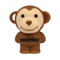флэш-накопитель smartbuy x'mas series monkey new year 16gb (sb16gbmonkeyny) (коричневый)
