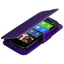 """Универсальный чехол-книжка для телефонов 3.5-4.2"""" (iBox SLIDER Universal YT000007483) (фиолетовый)"""