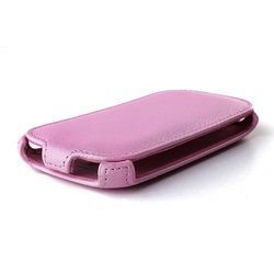 Чехол-флип для Samsung Galaxy A3 (iBox Premium YT000007690) (розовый)