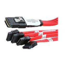 LSI SFF8087-4хSATA (CBL-SFF8087OCF-05M)