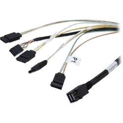 LSI SFF8643-4хSATA (CBL-SFF8643-SATASB-06M)