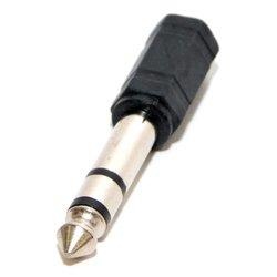 Переходник 6.3 Jack/M - 3.5 Jack/F (5bites AA-3F6M-04)