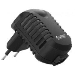 Универсальное сетевое зарядное устройство, адаптер 1хUSB, 1А (ORICO DCB-EU-BK) (черный)