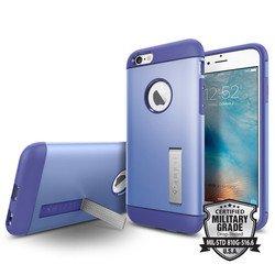 Чехол накладка для Apple iPhone 6, 6S (Spigen SGP11608) (фиолетовый)