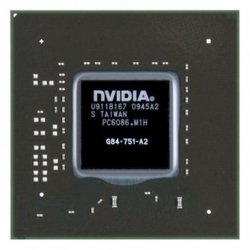 �������� nVidia GeForce 8700M GT, G84-751-A2, 64Bits, 128MB 2012 (TOP-G84-751-A2(12))