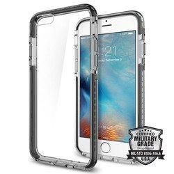 Чехол накладка для Apple iPhone 6, 6S (Spigen Ultra Hybrid Tech SGP11603) (стальной)