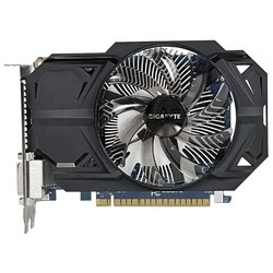 GIGABYTE GeForce GTX 750 Ti 1033Mhz PCI-E 3.0 1024Mb 5400Mhz 128 bit 2xDVI 2xHDMI HDCP RTL