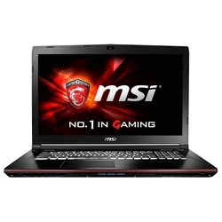 "msi ge72 6qc apache (core i7 6700hq 2600 mhz/17.3""/1920x1080/8gb/1000gb/dvd-rw/nvidia geforce gtx 960m/wi-fi/bluetooth/win 10 pro)"