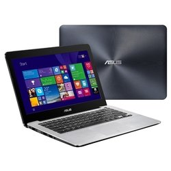 "asus x302lj (core i7 5500u 2400 mhz/13.3""/1920x1080/8.0gb/2024gb/dvd нет/nvidia geforce 920m/wi-fi/bluetooth/dos)"