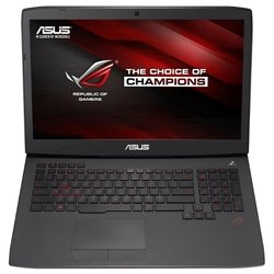 "asus rog g751jy (core i7 4860hq 2400 mhz/17.3""/1920x1080/8.0gb/1000gb/dvd-rw/nvidia geforce gtx 980m/wi-fi/bluetooth/без ос)"