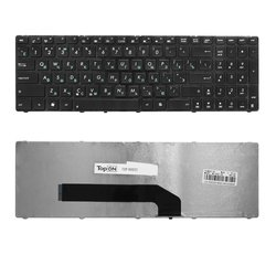 Клавиатура для ноутбука Asus K50, K50C, K51, K60, K61, P50, K70, F52, X5DIJ (TOP-99932) (черный)