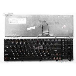 Клавиатура для ноутбука Lenovo G560, G560A, G560E, G565, G565A Series (TOP-85018) (черный)