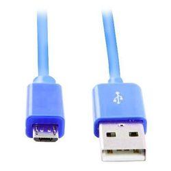 Кабель USB-microUSB (Smartbuy iK-12c) (синий)