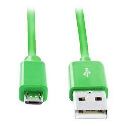 Кабель USB-microUSB (Smartbuy iK-12c) (зеленый)