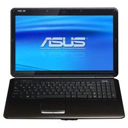 """ASUS K50IE (Core 2 Duo T6670 2200 Mhz/15.6""""/1366x768/3072Mb/320Gb/DVD-RW/Wi-Fi/Bluetooth/DOS)"""