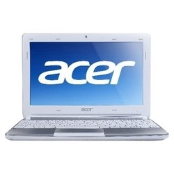 "acer aspire one aod257-n57cws (atom n570 1660 mhz/10.1""/1024x600/1024mb/250gb/dvd нет/wi-fi/linux) white-silver"
