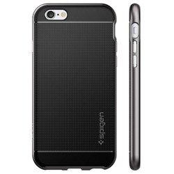 Чехол накладка для Apple iPhone 6, 6S (Spigen Neo Hybrid SGP11618) (стальной)