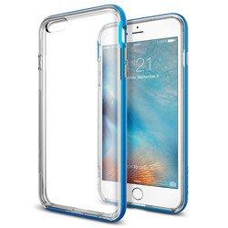Чехол накладка для Apple iPhone 6 Plus, 6S Plus (Spigen Neo Hybrid EX SGP11670) (голубой)