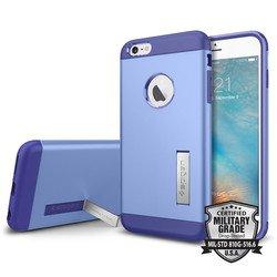 Чехол накладка для Apple iPhone 6 Plus, 6S Plus (Spigen Slim Armor SGP11654) (фиолетовый)