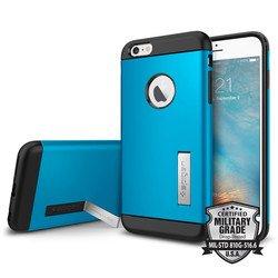 "Чехол-накладка для Apple iPhone 6 Plus, 6s Plus 5.5"" (Spigen Slim Armor SGP11652) (голубой)"