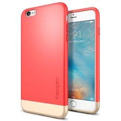 "Чехол-накладка для Apple iPhone 6 Plus, 6S Plus 5.5"" (Spigen Style Armor SGP11735) (красный)"