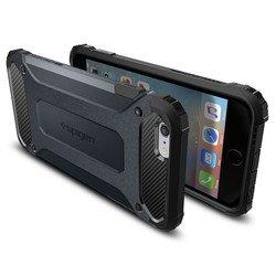 """Чехол накладка для Apple iPhone 6 Plus, 6s Plus 5.5"""" (Spigen Tough Armor Tech SGP11747) (металлический)"""