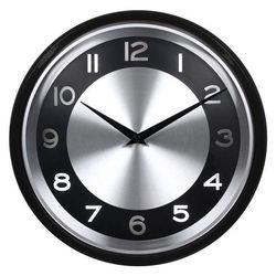 Часы настенные Бюрократ WALLC-R24P (черный)