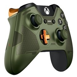 microsoft xbox one wireless controller halo 5: guardians-the master chief