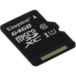 Карта памяти microSDXC Kingston 64Gb без адаптера (SDC10G2/64GBSP)