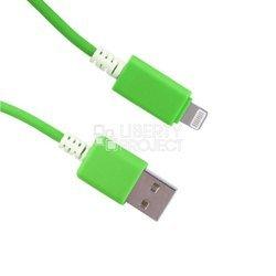Дата-кабель USB - Apple 8-pin Lightning (0L-00002543) (зеленый)