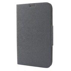 """Универсальный чехол-книжка для телефонов 4.3-5"""" (iBox UniMotion YT000007179) (серый)"""