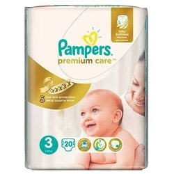 Pampers Premium Care 3 (5-9 кг) 20 шт.
