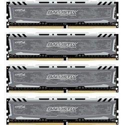 Память Crucial Ballistix Sport 4x8Gb DDR4 2400MHz (BLS4C8G4D240FSB) RTL