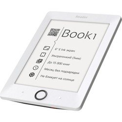 pocketbook reader book 1 (rb1-wh-ru) (белый)