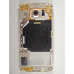 Средняя часть корпуса для Samsung Galaxy S6 G920 c боковыми клавишами (96958) (золотистый) 1 категория