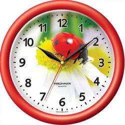Часы настенные Тройка 21230221 (Божья коровка)