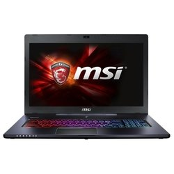 "MSI GS70 6QC Stealth (Core i7 6700HQ 2600 MHz/17.3""/1920x1080/8Gb/1000Gb/DVD нет/NVIDIA GeForce GTX 960M/Wi-Fi/Bluetooth/DOS) (GS70 6QC-003XRU) (черный)"