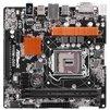 ASRock H110M-DGS (RTL) - Материнская платаМатеринские платы<br>Материнская плата, Intel H110, 1xLGA1151, 2xDDR4 DIMM, 1xPCI-E x16, LAN: 1000 Мбит/с, microATX, DVI, USB 3.0<br>