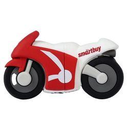 Smartbuy Wild series Motobike 16Gb (SB16GBBike) (красно-белый)