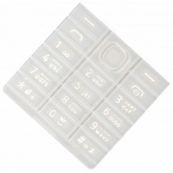 Клавиатура для Nokia 515 (16273) (белый) 1 категория